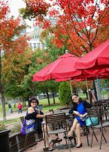 Photo: Cà phê công viên.
