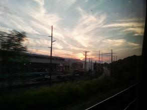 Photo: Sunset heading into Pittsburgh.