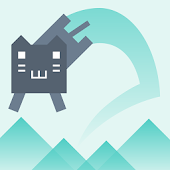 Jump Game -Cat Climb Mountain-