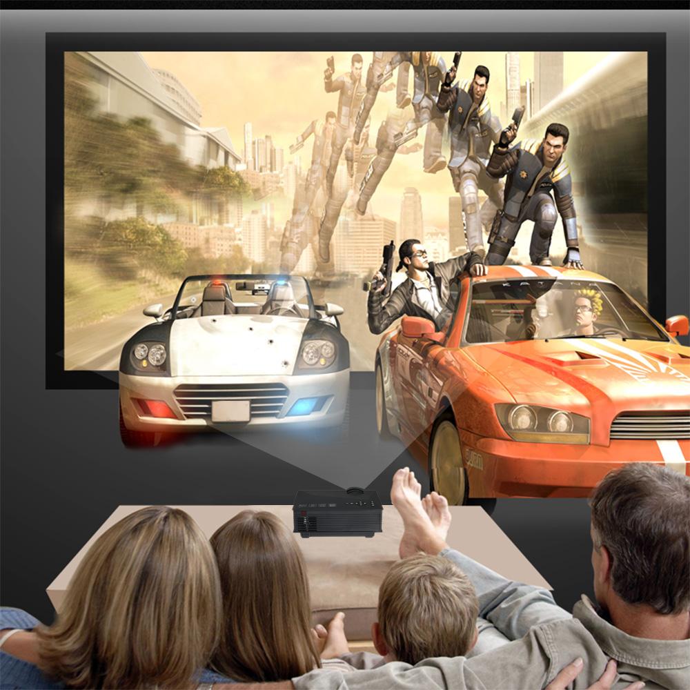 projecteur lcd led hd 1080p wifi sans fil 3d ready 1200. Black Bedroom Furniture Sets. Home Design Ideas