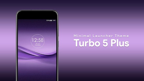 Launcher Theme For Infocus Turbo 5 Plus - náhled