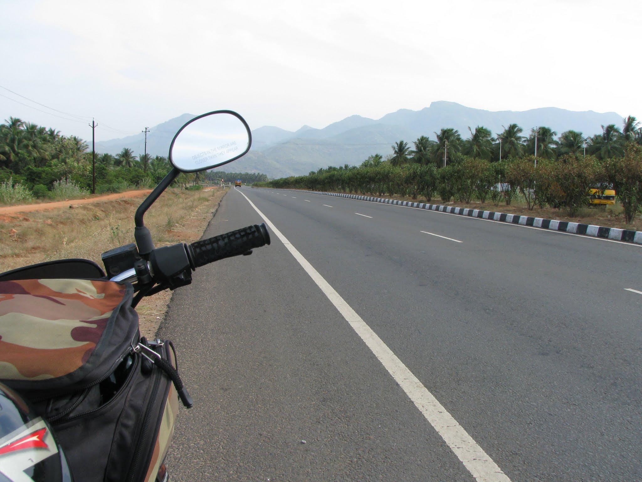 Photo: A short break on the way to Kodaikanal
