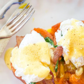 Chipotle Smashed Eggs Benedict
