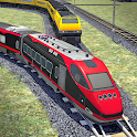 Train Racing Euro Simulator 3D: Train Games icon