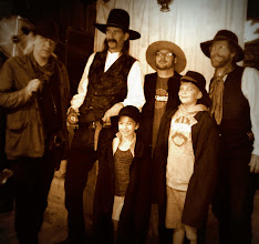 Photo: Anya chosen to re-enact at the final poker game of Wild Bill Hickok in Deadwood — at Saloon #10.