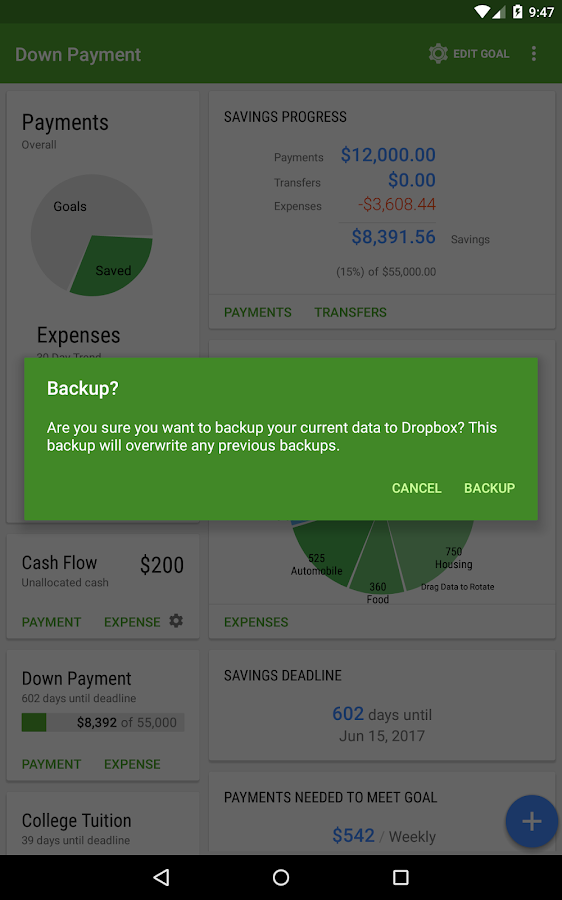 Saving Made Simple - Money App- screenshot
