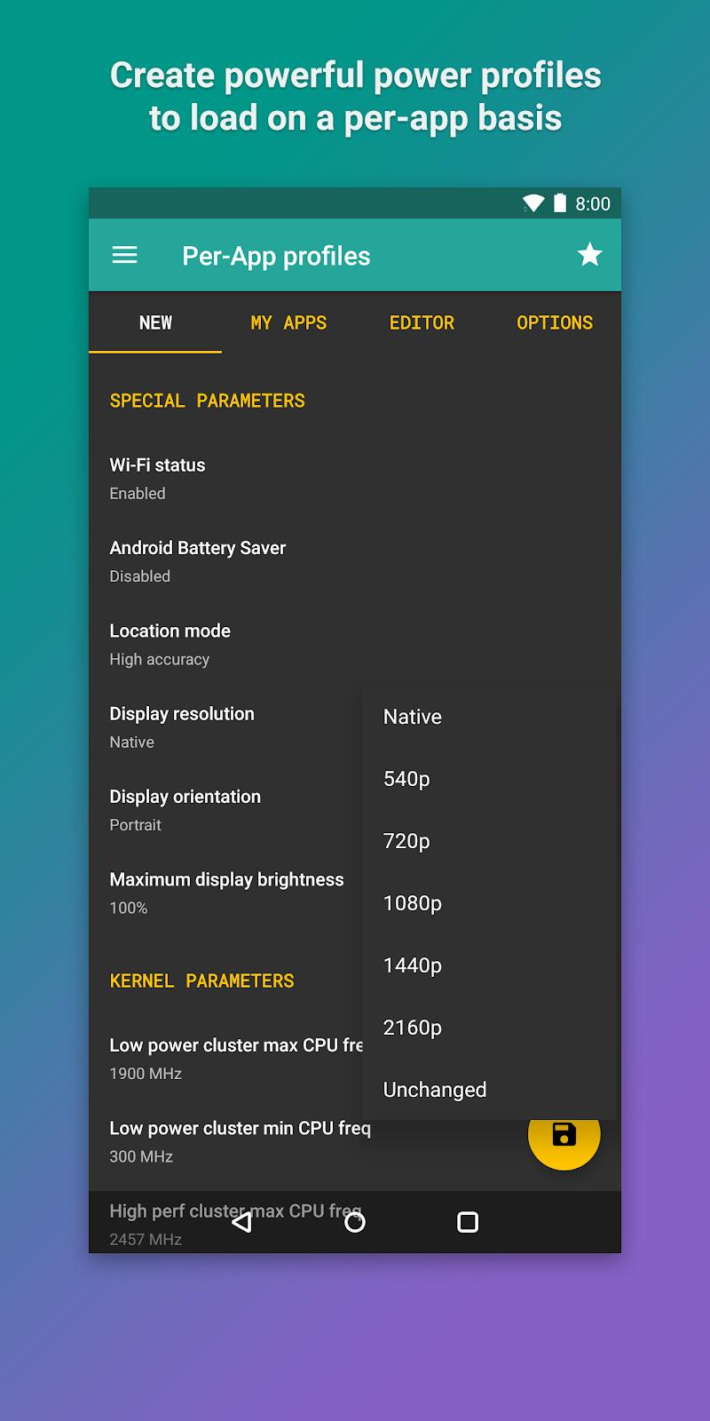Kernel Manager for Franco Kernel ✨ Screenshot 7