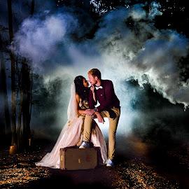 Going.... by Japie Van Reenen - Wedding Bride & Groom ( bride, groom, wedding photography, wedding day, wedding )