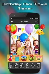 Birthday Mini Movie Maker - náhled