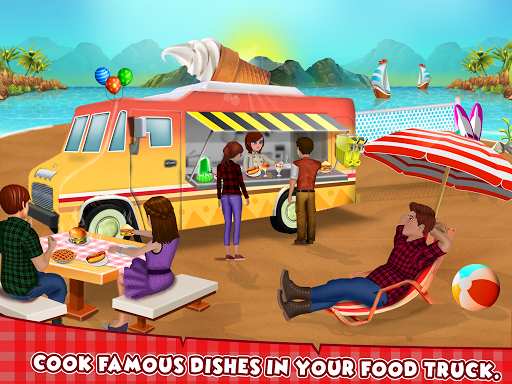 Food Truck Street Kitchen Cooking Games 1.3 DreamHackers 1