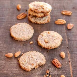Almond Pecan Shortbread Cookies.