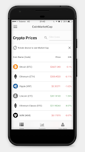 CoinMarketCap - Crypto Prices & Coin Market Cap- screenshot thumbnail