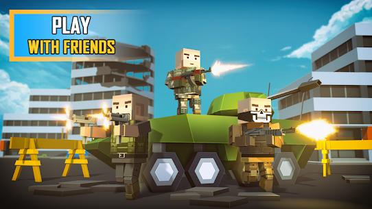 Pixel Grand Battle 3D 3