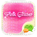 Pink Glitter GO SMS