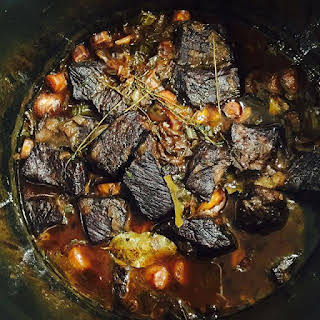 Red Wine Braised Short Ribs.