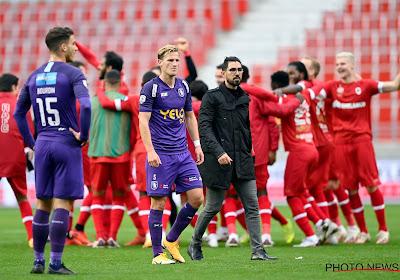 """Beerschot trots, maar teleurstelling neemt de bovenhand: """"Groot deel van de match gedomineerd. Er zat meer in"""""""