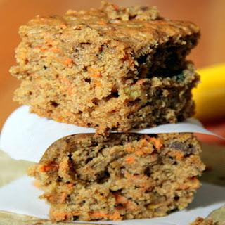 Vegan Zucchini Carrot Cake.