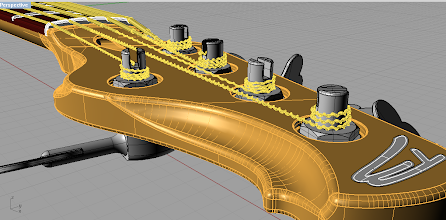 Photo: There are no sharp edges. It looks over-smooth now, but it be look good when rendered. I hope :)