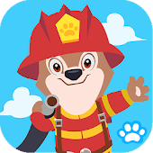 Happy Fireman Funny Game