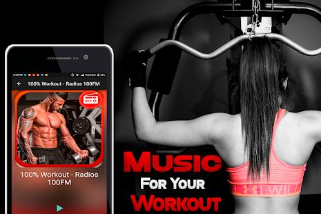 Gym Radio Workout Music Free - náhled