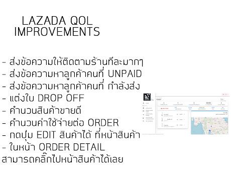 Laqoli - Lazada QOL Improvements