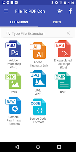 File to PDF Converter(Ai, PSD, EPS, PNG, BMP, Etc) 4.1 Apk for Android 1