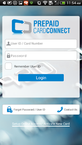 Prepaid CardConnect  screenshots 1