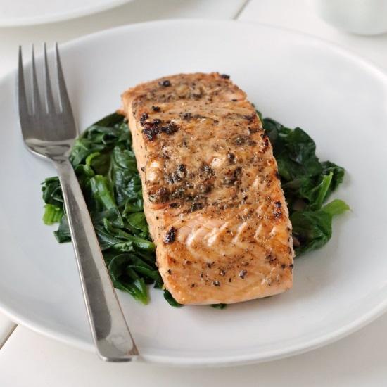 Cracked Pepper Salmon Recipe