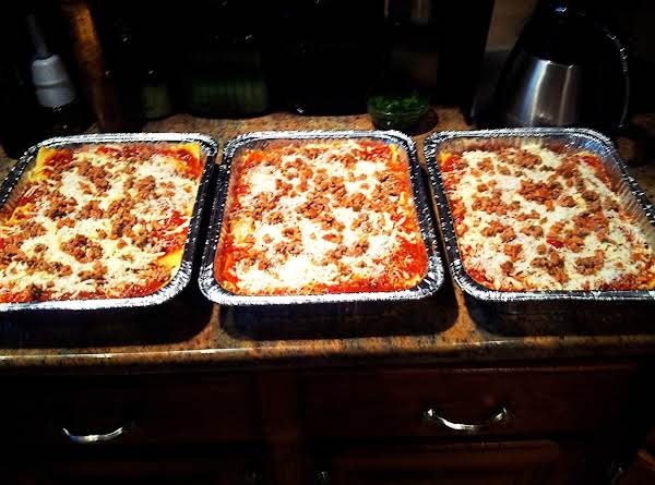 Meat Lasagna Is King! Recipe