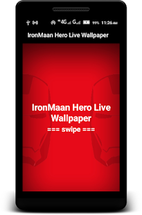 Iron Hero Live Wallpaper - náhled