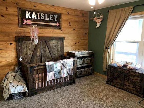 Rustic Woodland Themed Baby Boy Bedroom Ideas