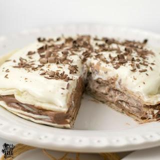 No Bake {Gluten Free} Mexican Dessert Torte.