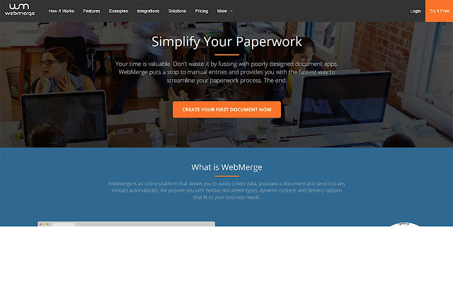 WebMerge - Populate Templates in Seconds