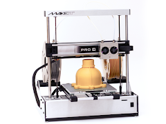 MAKEiT PRO-M High Resolution Dual Extruder 3D Printer with Extended Z Height