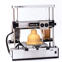 CLEARANCE - MAKEiT PRO-M High Resolution Dual Extruder 3D Printer with Extended Z Height
