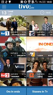 Tivù la Guida: programmi tv screenshot