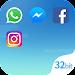 DualSpace Blue - 32Bit Support icon
