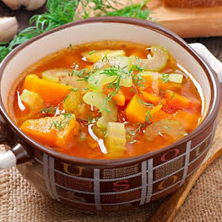 Kid's Quick & Easy Vegetable Soup.