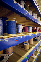 Photo: Tons of various wire spools