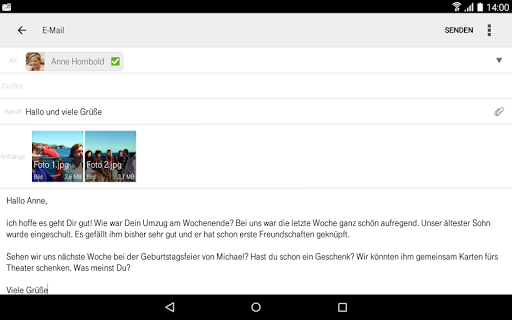 Telekom Mail screenshot 15