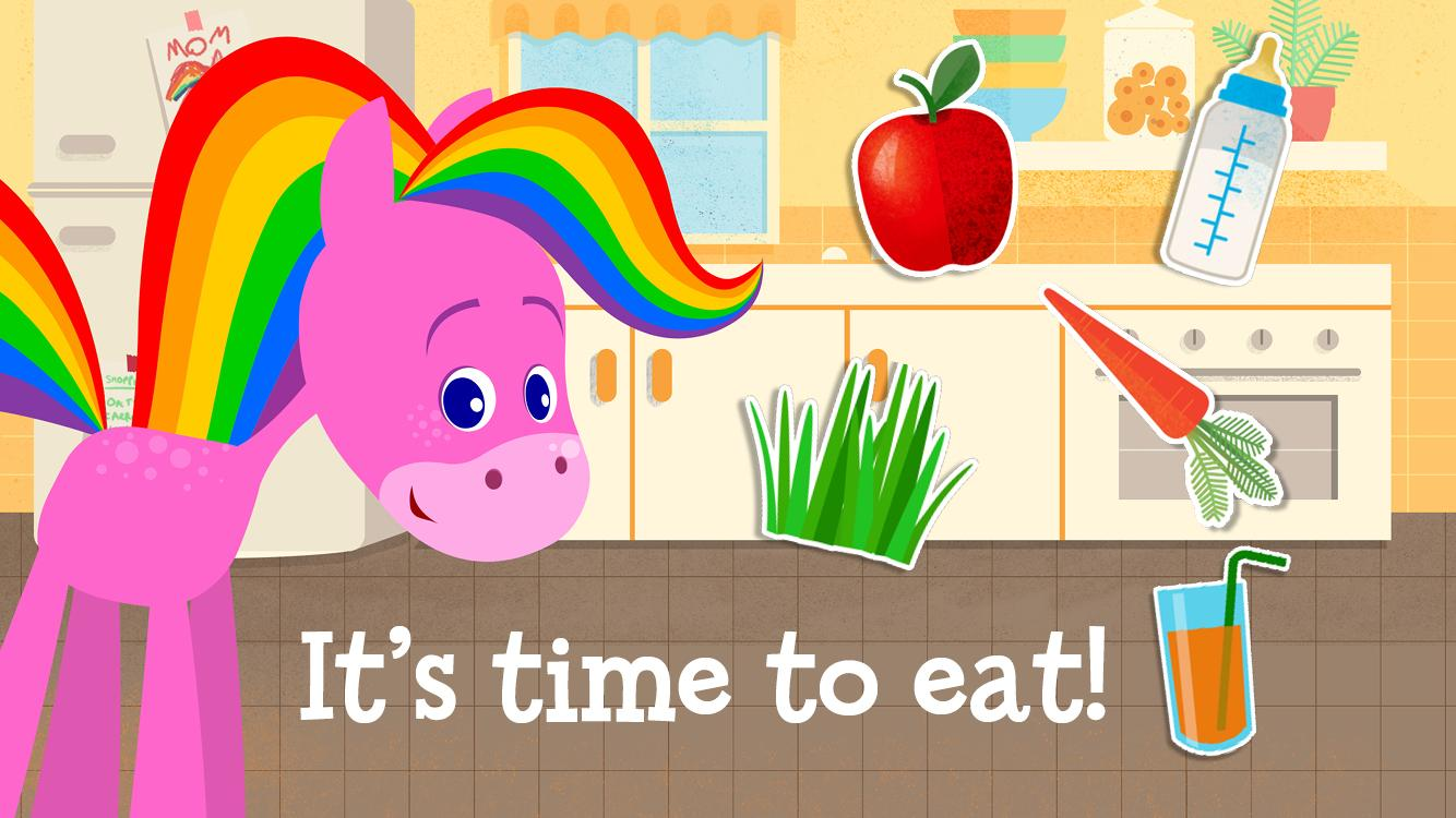 my pet rainbow horse for kids android apps on google play