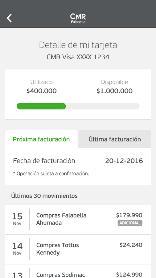 CMR Falabella Chile- screenshot