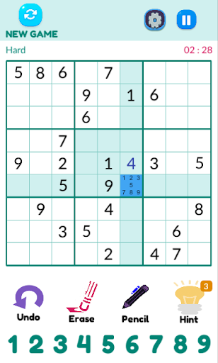 Sudoku 1.1.1 screenshots 4