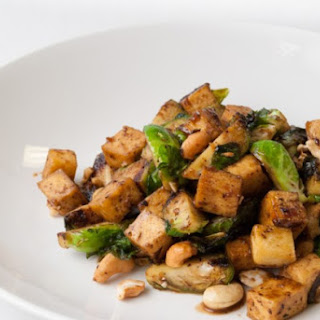 Brussels Sprouts with Tofu