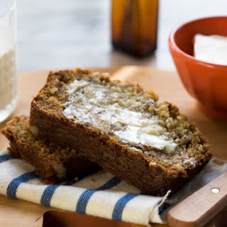 Orange Blossom and Honey Banana Bread