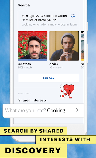 Screenshot 3 for OkCupid's Android app'