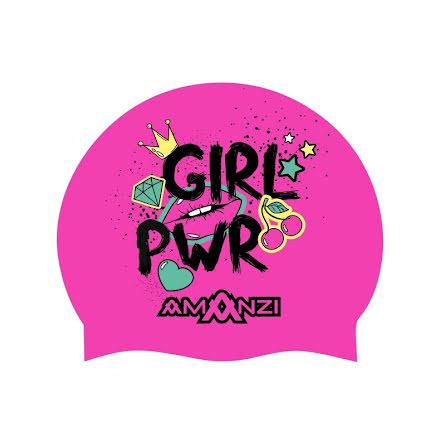 Girl Power - Swim Cap