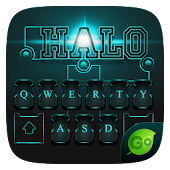 Halo GO Keyboard Theme & Emoji
