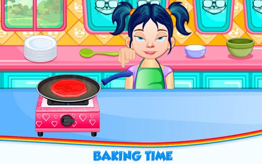 Code Triche Rainbow Pancakes Cooking APK MOD screenshots 5