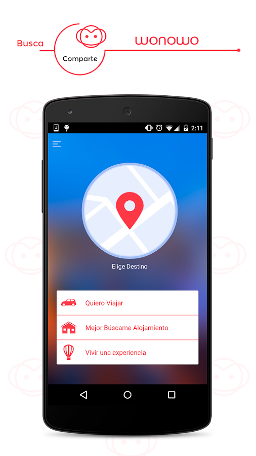 WONOWO, travel, save and share- screenshot